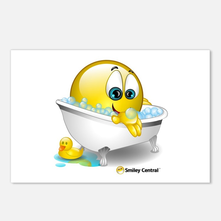 Bath Tub Postcards (Package of 8)