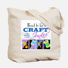 10 Signs of a Craft Junkie Tote Bag