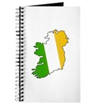 Tricolor Map of Ireland Journal