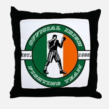 Official Irish Fighting Team Throw Pillow
