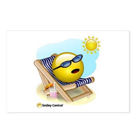 Tanning Postcards (Package of 8)