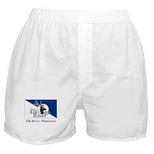 Elk River MN Flag Boxer Shorts