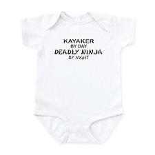 Kayaker Deadly Ninja Onesie
