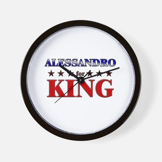 ALESSANDRO for king Wall Clock