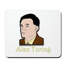 Alan Turing Mousepad