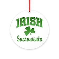 Sacramento Irish Ornament (Round)