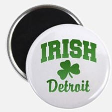 "Detroit Irish 2.25"" Magnet (10 pack)"