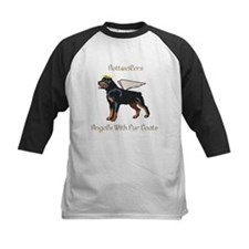 Rottweilers Angels With Fur Coats Tee