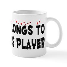 Belongs To A Dominoes Player Mug