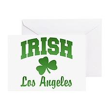 Los Angeles Irish Greeting Card