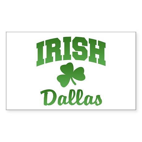 Dallas Irish Rectangle Sticker