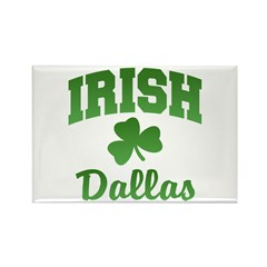 Dallas Irish Rectangle Magnet