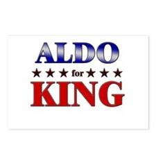 ALDO for king Postcards (Package of 8)