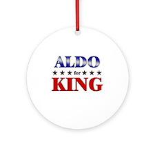 ALDO for king Ornament (Round)