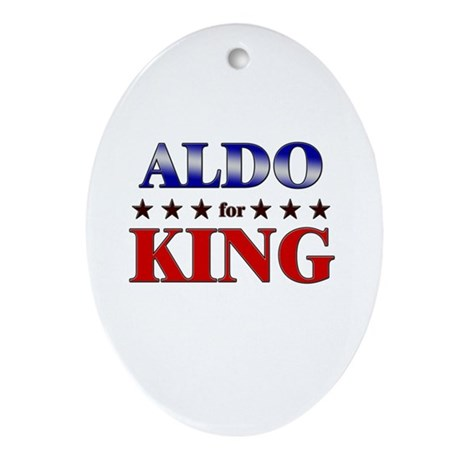 ALDO for king Oval Ornament