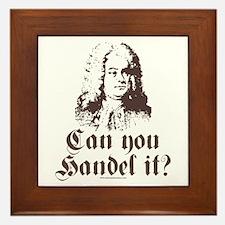 Can You Handel It Framed Tile