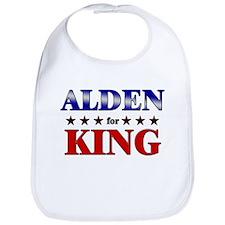 ALDEN for king Bib