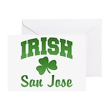 San Jose Irish Greeting Card