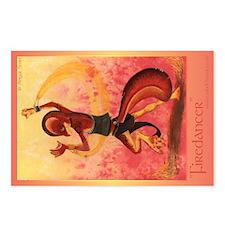 """""""Firedancer"""" Postcards"""