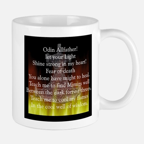 Prayer to Odin Mug