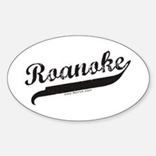 Roanoke Oval Decal