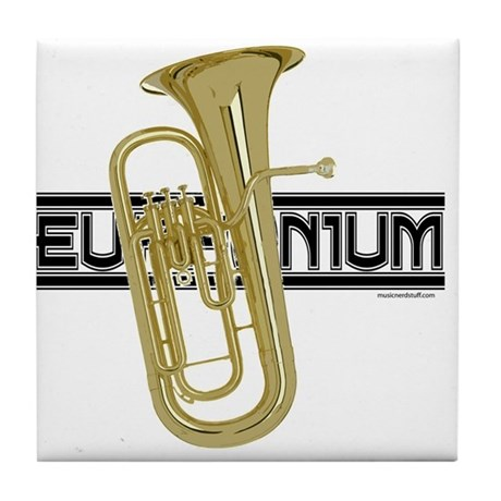 Euphoniums Tile Coaster
