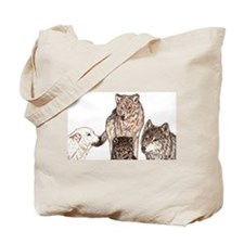 Cute Wolf tarot tarot Tote Bag