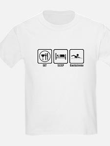 Eat, Sleep, Backstroke T-Shirt