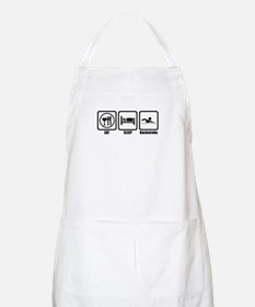 Eat, Sleep, Backstroke BBQ Apron