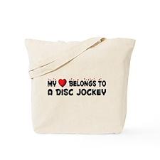 Belongs To A Disc Jockey Tote Bag
