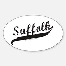 Suffolk Oval Decal