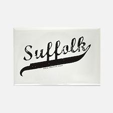 Suffolk Rectangle Magnet