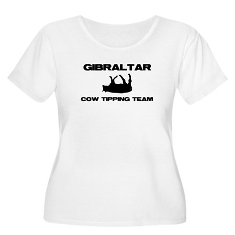 Gibraltar Women's Plus Size Scoop Neck T-Shirt