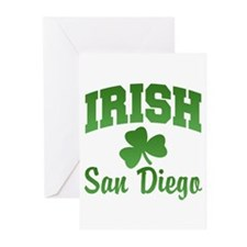 San Diego Irish Greeting Cards (Pk of 20)