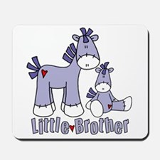 Sock Pony Duo Little Brother Mousepad