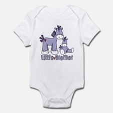 Sock Pony Duo Little Brother Infant Bodysuit