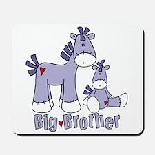 Sock Pony Duo Big Brother Mousepad