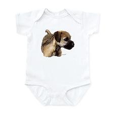 Unique Border terrier Infant Bodysuit