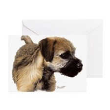 Unique Border terrier Greeting Cards (Pk of 20)