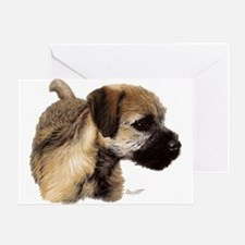 Unique Border terrier Greeting Card