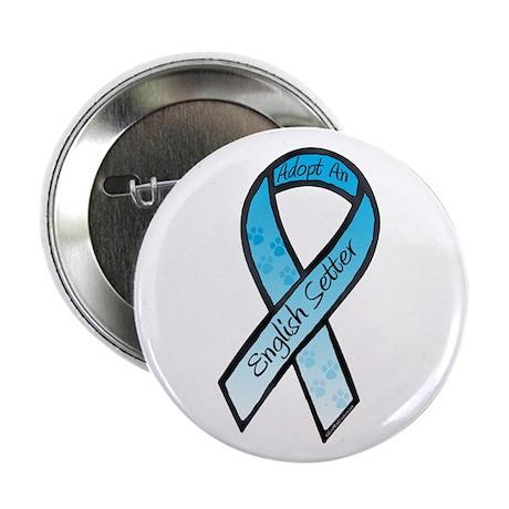 """English Setter RibbonB 2.25"""" Button (100 pack)"""