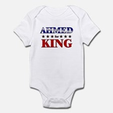 AHMED for king Infant Bodysuit