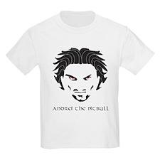 Andrei The Pitbull Kids Light T-Shirt