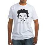 Andrei The Pitbull Fitted T-Shirt