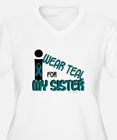 I Wear Teal For My Sister 7.1 T-Shirt