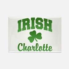 Charlotte Irish Rectangle Magnet