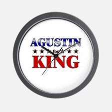 AGUSTIN for king Wall Clock