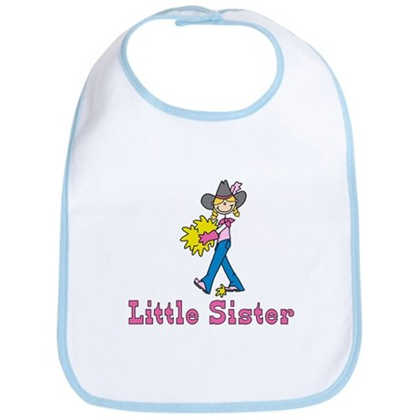 Stick Cowgirl Little Sister Bib
