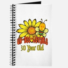 Un-Bee-Lievable 30th Journal