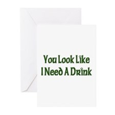 St. Patrick's Day - I Need A Drink Greeting Cards